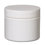Double Wall Plastic Jar W/Cap 2oz
