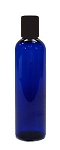 Cobalt Blue Bottle 4oz with Disc Cap - As Low As 0.41!