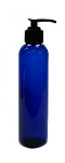 Cobalt Blue Bottle 8oz with Pump - As Low As 0.91!