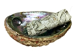 Abalone Shell & White Sage Smudge Stick Package