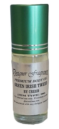 Premium Body Oil 1oz Roll-on (GREEN Cap - Premium Label) - As Low As $2.89!