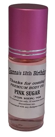 Premium Body Oil 1oz Roll-On (MAGENTA Cap - Premium Label) - As Low As $2.89!
